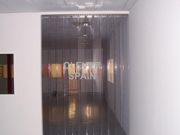 Pvc flexible lamas y rollos de pvc for Accesorios para cortinas